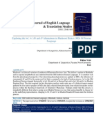 Exploring the w, V, b and f Alternations in Mashoori Dialect (MD) of Persian Language