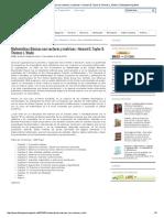 Matemáticas Básicas Con Vectores y Matrices – Howard E. Taylor & Thomas L