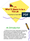 What It Means to be a TIS-LM