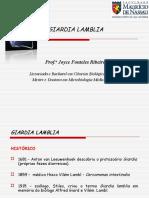 Aula Parasito 3 (Giardia Lamblia)