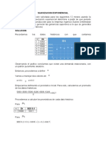 Suavizacion Exponencial y Formulas de Inventario
