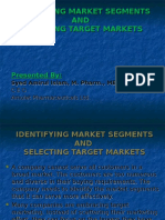 IDENTIFYING MARKET SEGMENTS AND.ppt