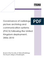 Governance of Radiology PACS v3