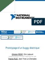 6 3 Prototypage d Un Buggy Electrique a LIUT de Cachan