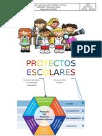 Planificación de Proyecto Escolar Institucional