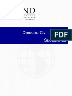Derecho Civil, Bienes y Sucesiones.- Unid Universidad Interamericana Para El Desarrollo