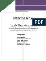 La Civilización Andina INFORME 2