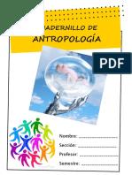 Cuadernillo de Antropología II-2016