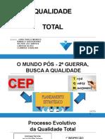 Qualidade Total - 5s - 6Sigma - ISO - Ciclo PDCA