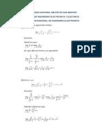 Balotario Del Examen Parcial de Funciones Analiticas Solucion