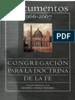 Congregación para la Doctrina de la Fe, Documentos 1966-2007.pdf