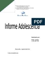 Adolescencia Evolutiva II