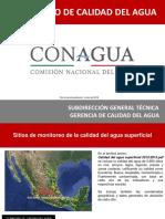 Parametros de calidad del agua CONAGUA 2016