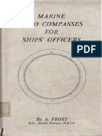 Marine Gyro Compasses for Ships Officers