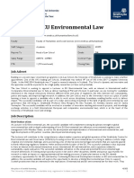 EU Environmental Law