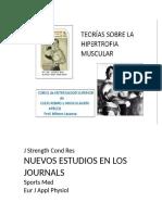 Nuevos Estudios Hipertrofia Muscular y Fuerza