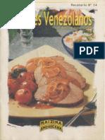 Sabores de Venezuela Nº 14