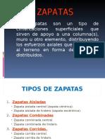 SEM 12A - Zapatas