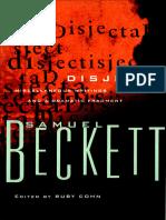 Beckett, Samuel - Disjecta (Grove, 1984)