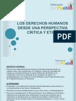 Derechos Humanos Desde Una Perspectiva Critica y Etica 2015-1