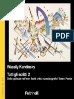 Wassily Kandinsky - Tutti Gli Scritti Vol 2