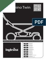 Inglesina Domino Twin Manual Instrucciones Es Paseobebe