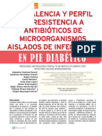 Antibiotico Pie Diabetico