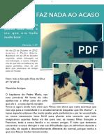 Exposição 4 anos do Pedro Maria