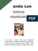 Júlia 275. - Miranda Lee - Különös Nászéjszaka