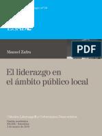 29. Manuel Zafra. El Liderazgo en El Ámbito Público Local
