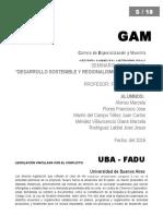 Desarrollo Sustentable y Regionalismo Autónomo_ GAM 2016