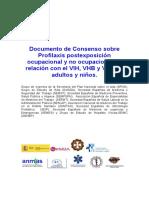 Gesida Guiasclinicas 2015 BR Profilaxis VIH VHB VHC