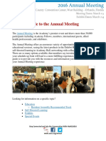 Guide to the AAOS 2016 Annual Meeting