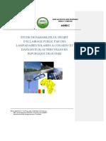 2011 Etude Faisabilite Eclairage Publique PV - SABER.pdf