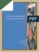 Zullo Julia - Discurso Identidad Y Representacion Social