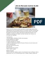 Fígado Com Jiló Do Mercado Central de B1