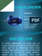 Motor Dahlander Presentación