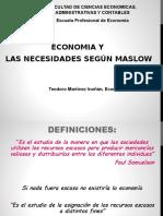 Economia y Necesidades Maslow