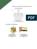 Realidad Admistratativa Canton Quilanga y Saraguro