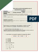 5º Básico 2016  - diagnostico.doc