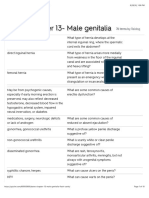 Bates Chapter 13- Male genitalia Flashcards | Quizlet