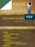 1 Investigacindescriptiva 120120204021 Phpapp02
