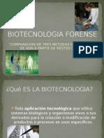Biotecnología Forense