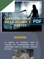 Aspectos Legales de La Agonía y La Muerte