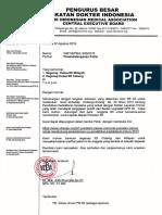 Pengantar PB IDI - Petisi