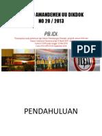 Presentasi Fraksi PKS di DPR
