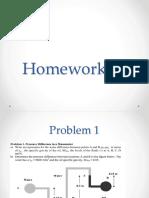 CE140-1P Homework 1
