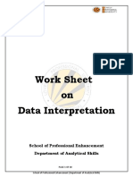 DI-DATAInterpretation-DI-High Level Questions