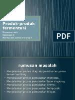 Power Point Rbp II (Produk-produk Fermentasi)