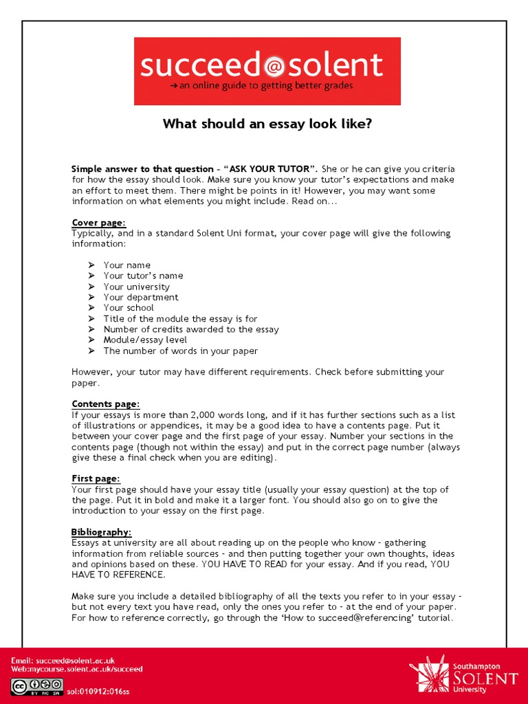 what should a cover page for an essay include A dense page of text prevents us from commenting and correcting please also write on only one side of the page and number each separate page of writing put your name, date, course-title and department on the first sheet do remember to give a title to your essay and make sure it is at the top of the essay itself.